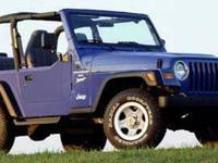 Come see this 1997 Jeep Wrangler Sport. It has a