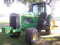 Description Make: John Deere Year: 1997 6200 Hours.