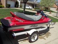 Very good jetski with only 123 hrs on it. It runs great