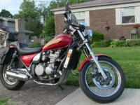 1997 Kawasaki ZLB 650 motorcycle, 17k miles, excellent
