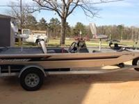 1997 17 ' Lakesport Fishing Boat All Aluminum Welded