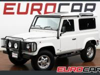 FEATURED 1997 LAND ROVER DEFENDER WAGON RUST FREE