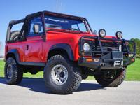 Here is the Ultimate 1997 Land Rover Defender 90. RUST