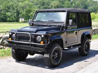 The Defender 90 is no longer available in the USA and