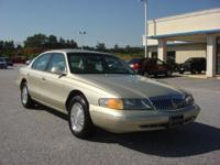 Options Included: N/A1997 LINCOLN Continental 4dr Sdn