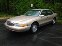 1997 LINCOLN CONTINENTAL, AUTOMATIC, 80,835 MILES, V8,