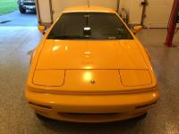 1997 Mustard Yellow with Black Leather Lotus Esprit V8