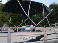 I have a 1997 Lowe 24ft. pontoon with a 60 horse