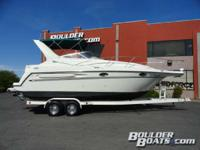 Loaded with options. Featuring: Mercruiser 7.4L with