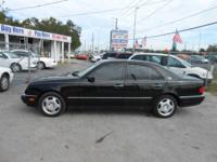 This 1997 Mercedes Benz E420 runs and drives great. The