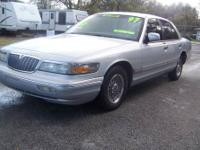 1997 Mercury Grand Marquis GS, Ice Cold A/C, Automatic,