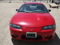 1997 Mitsubishi Eclipse RS, 2 door automatic car with
