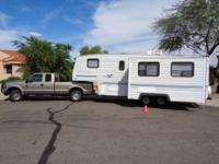 1997 Nash M275L. This 5th wheel travel trailer is a