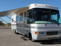 "THIS 36ft CLASS ""A"" MOTOR HOME HAS BEEN BABIED SINCE"