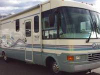 1997 national rv dolphin, has less than 22k on it coach