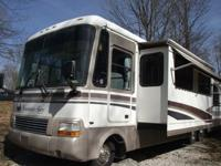 1997 Newmar Mountainaire Class A RV with 1 power slide,