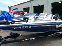 1997 Nitro 185 Sport This boat is powered by a 120
