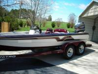 up for sale is my 1997 nitro 896 savage, the boat is in