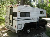 10' cabover camper by Northland out of Boise, ID. Very
