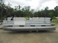 Up for auction is a 1997 Hand Beach 20 Pontoon. Sold