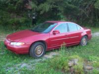 Up for sale is a 1997 Pontiac Grand Prix Se. This car