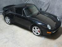 Stunning, black/black 1997 911Turbo, with only 41,050