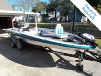 Freshwater Bass Boat Powered by Mercury 150 2-stroke