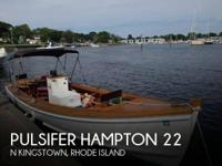 1997 Pulsifer Hampton 22 - Stock #088218 -