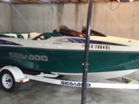 1997 Engine Type: Jet DriveMake: Sea Doo Engine Make: