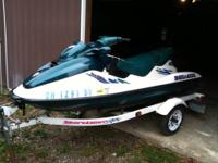 1997 Sea Doo GTX three seater with the 781.6 cc Rotax