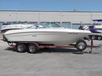This is a very clean always garaged 1997 Sea Ray!