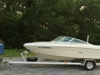 1997 Sea Ray 190 Bow Rider. Selling it because my 16