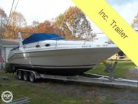- Stock #81492 - 1997 290 Searay Sundancer 30 foot oal.