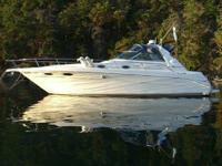 This 1997 Sea ray 330 Sundancer Is One Of The Cleanest