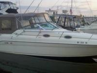 Nice very well maintained Sea Ray. One of the cleanest