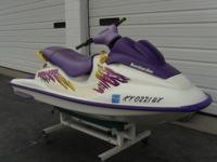 1997 SeaDoo GSX jet ski with trailer, 2 seater, 717cc