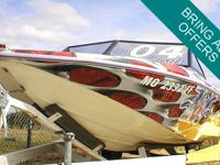 1997 Ski-Pro 18 - Powered by a GM 350. The engine has