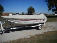 1997 Smoker Craft 140 Pro Mag with 1998 Mercury 30 EHO