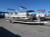 1997 Starcraft Stardeck 240 Elite 24' - This is a one