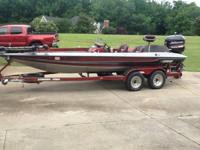 I have a 1997 Stratos 201 Pro Elite bass boat for sale.