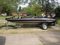 I have a 1997 Stratos 282 DC 18 foot bass boat powered