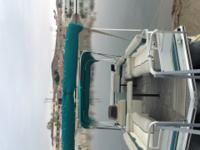97 Sun Tracker with 3 pontoon in excellent condition.