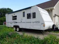 hello i have a 33ft.travel trailer for sale on a