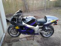 1997 Suzuki GSXR 600 (RAM AIR DIRECT) 9799 MILES VERY