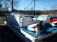 1997 Sweetwater 20 foot party barge with 75 hp Mercury.