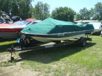 1997 Sylvan 20' deckboat with 4.3l mercruiser v-6 and
