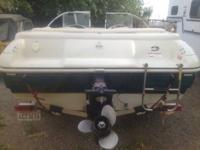 17.8 ft open bow great condition  4 cyl Volvo
