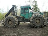 FOR SALE 1997 450C TIMBERJACK LOG SKIDDER WITH MULTI