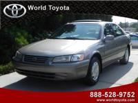 Options Included: N/AThis 1997 Toyota Camry has a gray