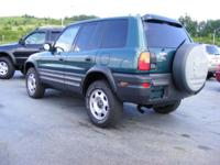 Options Included: N/A97 Toyota Rav 4 , 4WD, 5speed,